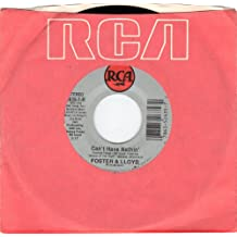 FOSTER & LLOYD/Can't Have Nothin'/45rpm record