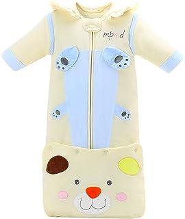 Happy Cherry - Saco de Dormir Infantil de Slgodón para Bebé Niños Cálido con Mangas Capucha Desmontable Pijama…