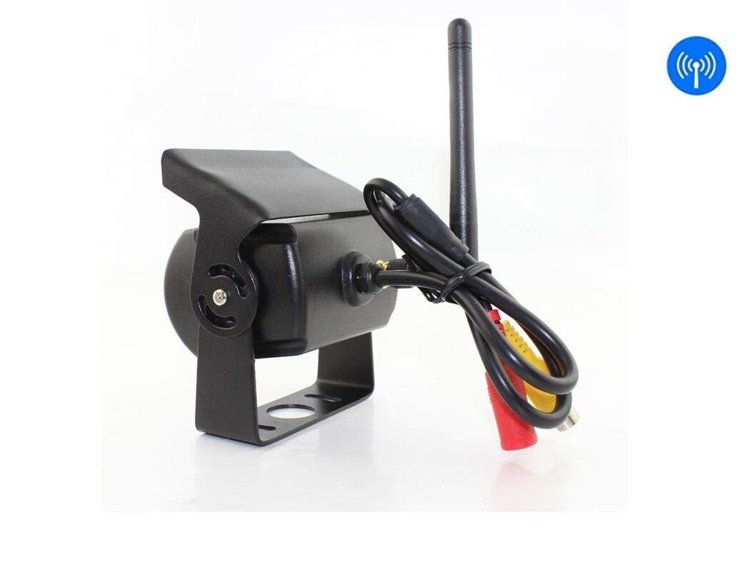 Drahtloses R/ückw/ärts Kamera-Kit RVS 7 Zoll TFT LCD-R/ück Fahr Monitor F/ür LKW Camper LKW IP 67 Wasserdichtes LED-Super-Night-Vision-Nummernschild Umkehr Der R/ückfahrkamera