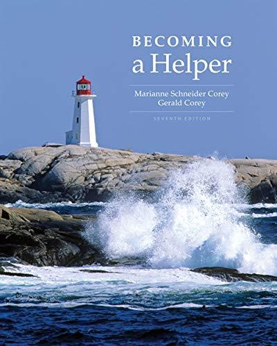 Becoming a Helper (MindTap Course List)