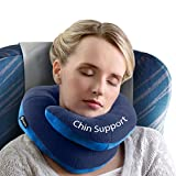 BCOZZY Chin Supporting Travel Pillow - Supports the Head, Neck...