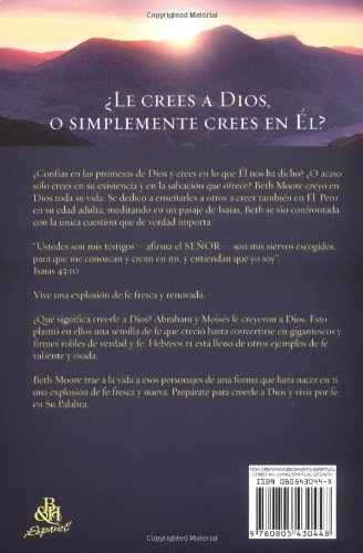Creerle a Dios (Spanish Edition) by B & H Publishing Group