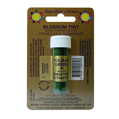 Sugarflair Blosom Tint Edible Dusting Powder - Foliage Green