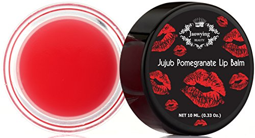 Pomegranate Lightening Lip treatment for Dark Lips - Rich shea butter, Softens, Hydrates and Nourishes - Net 0.33 Oz (10 g.)