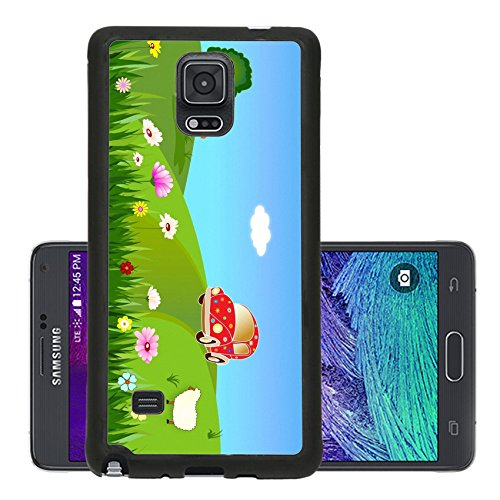 Liili Premium Samsung Galaxy Note 4 Aluminum Backplate Bumper Snap Case Trip to the country Photo 20395589