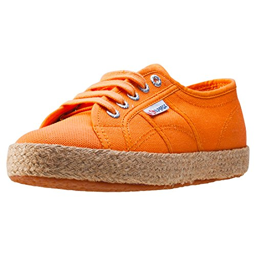 Superga 2750 Animalnetw, Women's Low-Top Sneakers Orange