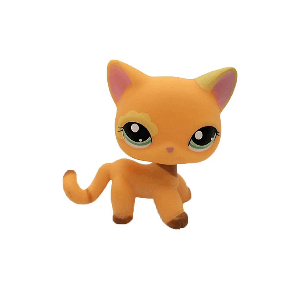 1pc Pet Shop LPS Toys Action Figure Toys Cartoon Animal Cat Dog Figures Collection Kids Gift crossed3_Pet toy store