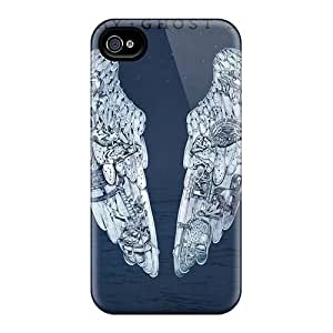 SherriFakhry Iphone 4/4s Anti-Scratch Cell-phone Hard Cover Allow Personal Design High-definition Coldplay Band Image [ctX945pEnQ]