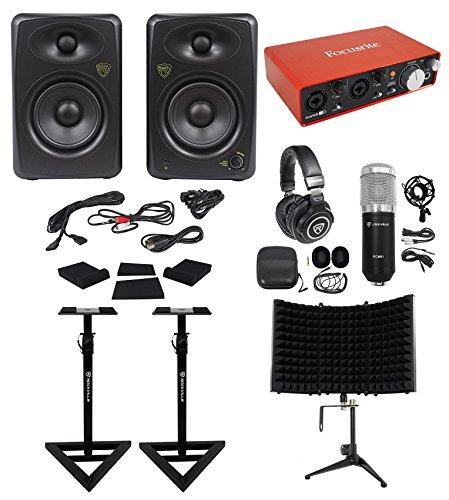 Focusrite Package w/Interface+Studio Monitors+Recording
