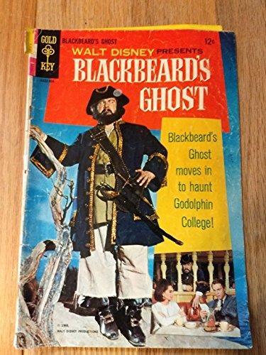 Walt Disney Presents Blackbeard's Ghost Gold Key Comic 1968