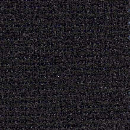 14 Count Black Aida Fabric 14x18 Inches (35x45cm) - 310 - DC27/10 ()