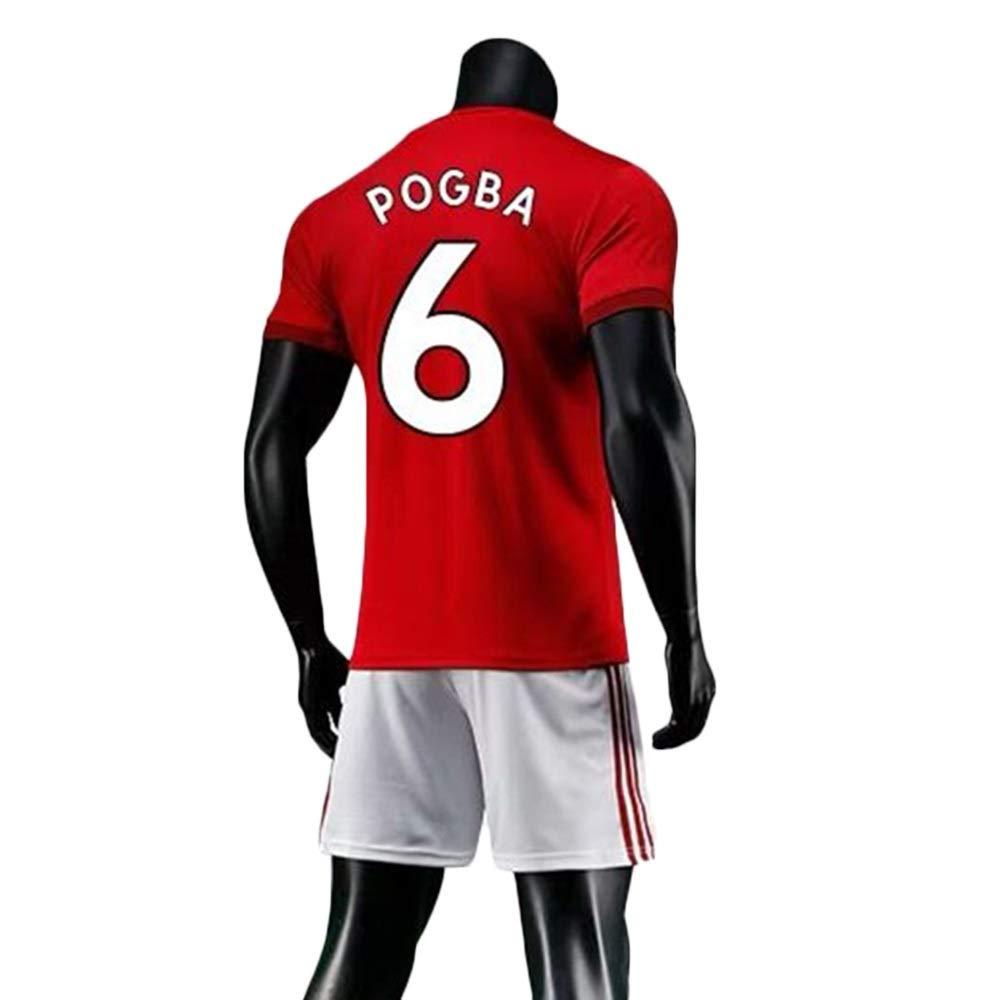 JXYA-Jersey Soccer T-Shirt-Paul Pogba-6 for Football Sports Fan Team Jersey T-Shirt Mens and Womens Fans-T-Shirts Shorts