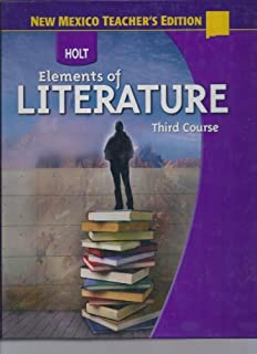 Holt elements of literature third course rinehart and winston holt elements of literature third course holt teachers edition fandeluxe Image collections