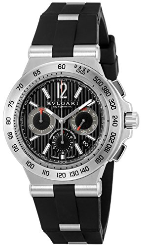- BVLGARI Diagono Professional Black Dial Men Watch DP42BSVDCH