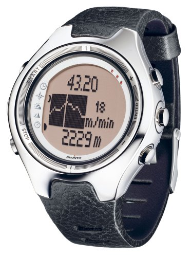 SUUNTO X6M Wrist-Top Computer Watch with Altimeter, Barometer, Compass, Clinometer and PC-Interface ()