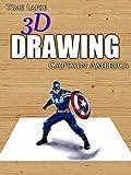 Clip: Time Lapse 3D Drawing: Captain America