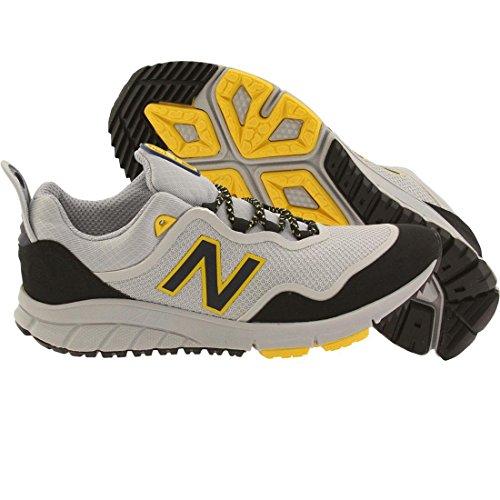 New Balance Men 801 Vazee Outdoor MVL801AG (Gray/Micro chip/Black/Yellow) (New Clogs Balance)
