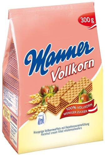 - Manner - Original Neapolitan Wafers Wholemeal - 300gr