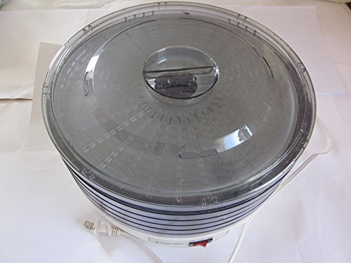 Magic Chef Electric Food Dehydrator, Item #KN-128E (470), 5 Trays