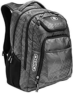 """OGIO 411069-SILVER Business Excelsior 17"""" Laptop Backpack/Rucksack, Race Day/Silver"""