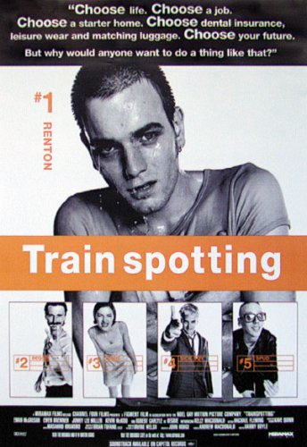 Trainspotting - Movie Poster (Size: 27'' x 40'')