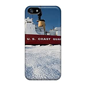 High Quality DrunkLove Coast Guard Polar Cutter Skin Case Cover Specially Designed For Iphone - 5/5s