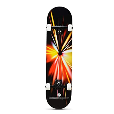 Aniseed Beginner Street Skateboard Colorful Light Skateboards Cruiser 31 Inch : Sports & Outdoors