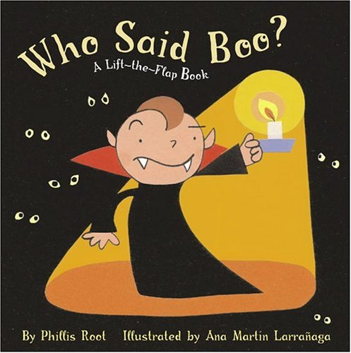 Read Online Who Said Boo?: A Lift-the-Flap Book PDF