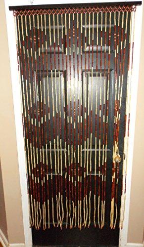 Natural Bamboo Beaded Curtains - 3