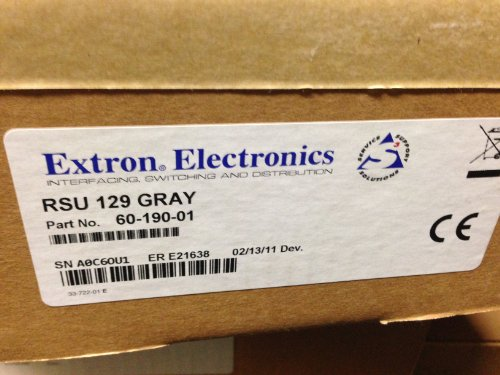 (Extron RSU 129 Universal Rack Shelf Kit for 9.5