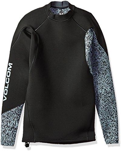 Volcom Men's Neo Revo Wetsuit Jacket, Black, Large by Volcom