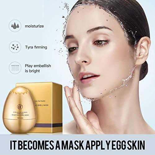 - Wffo Daralis Yeast,Veil Sleeping Mask, Cosmetics, Moisturizing, Pulling And Tightenin ♚♚One Mask Egg, Equivalent To 10 Masks