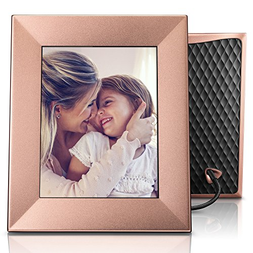 Nixplay Iris 8'' Wi-Fi Cloud Frame (W08E - Peach Copper) by nixplay