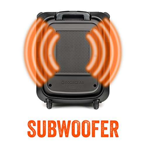ECOXGEAR GDI-EXBLD810 Waterproof Portable Bluetooth/AM/FM Wireless 100W Speaker & PA system by ECOXGEAR (Image #1)
