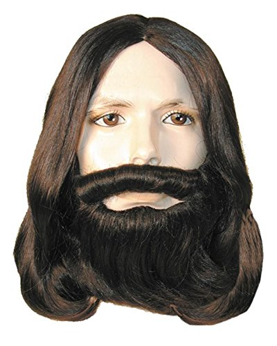 Lacey Wigs (Biblical Wig & Beard Set Med Chestnut Brown)