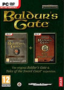Baldur's Gate and Tales of the Sword Coast Expansion - Double Pack (PC DVD) [Importación inglesa]
