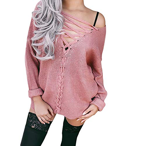 Baigoods-Clothes Women's Long Sleeve T-Shirt Off Shoulder Shirt Casual Loose Two Tops