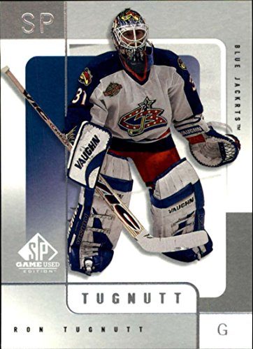 - 2000-01 SP Game Used #17 Ron Tugnutt Columbus Blue Jackets 1 Card Team Set