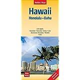 Nelles Map Landkarte Hawaii : Honolulu, Oahu: 1:150.000 | reiß- und wasserfest; waterproof and tear-resistant; indéchirable et imperméable; irrompible & impermeable (Nelles Map / Strassenkarte)