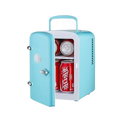 ZZXXRR 4L Mini Nevera Personal portátil Refrigerador para Autos ...
