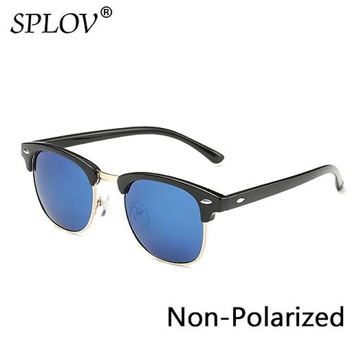 Yangjing-hl Semi sin Montura Gafas de Sol polarizadas ...