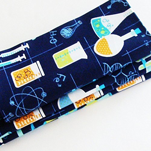 Chemistry Lab Cotton Napkins (Set of 4) ME2Designs Handmade Table Decor -
