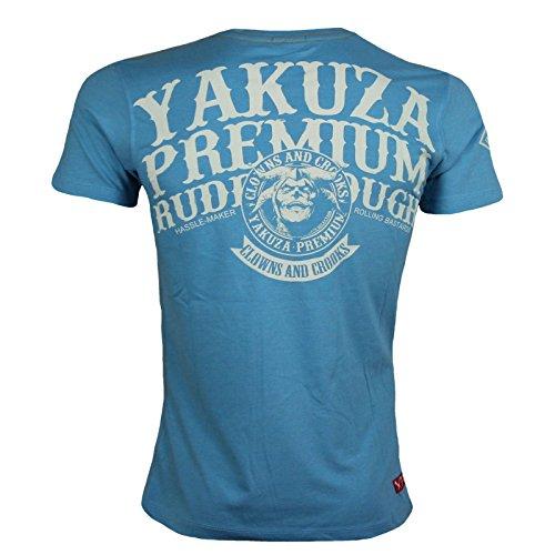 Yakuza Premium T-Shirt 2109 hellblau