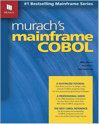 Murachs Mainframe COBOL