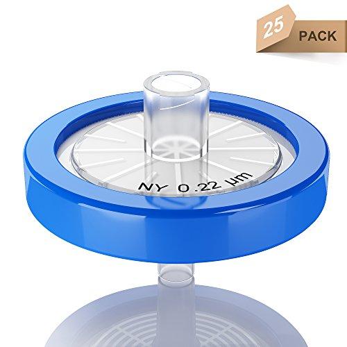 - Syringe Filters Nylon 25 mm 0.22 um Non Sterile 25/pk by KS-Tek
