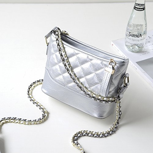 And New Wind Chain Small Diamond Quality High Bag Joker Korean Star Shoulder Wave 2018 Cjshop Silver Fragrant Female Bag Version Star Chain qAzFTX