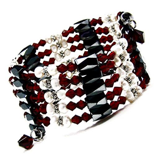 Magnetic Hematite Bracelet Necklace (Accents Kingdom 36