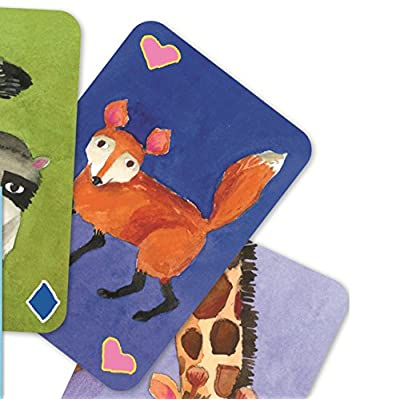 eeBoo Animal Rummy Card Game for Kids: Toys & Games