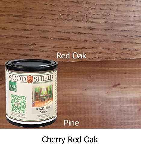 ECOS Paints 00817292022524 Woodshield Interior Wood Stain, 1 Quart, Cherry Red Oak Cherry Stain Oak