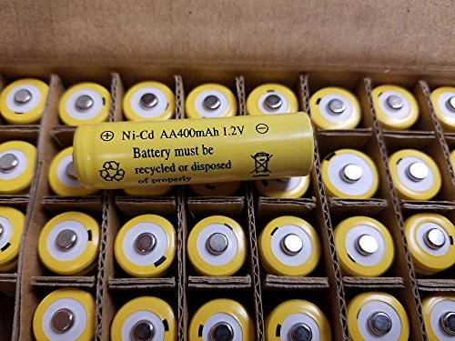 36 AA 400mAh Nicd 1.2V Solar Rechargeable batteries